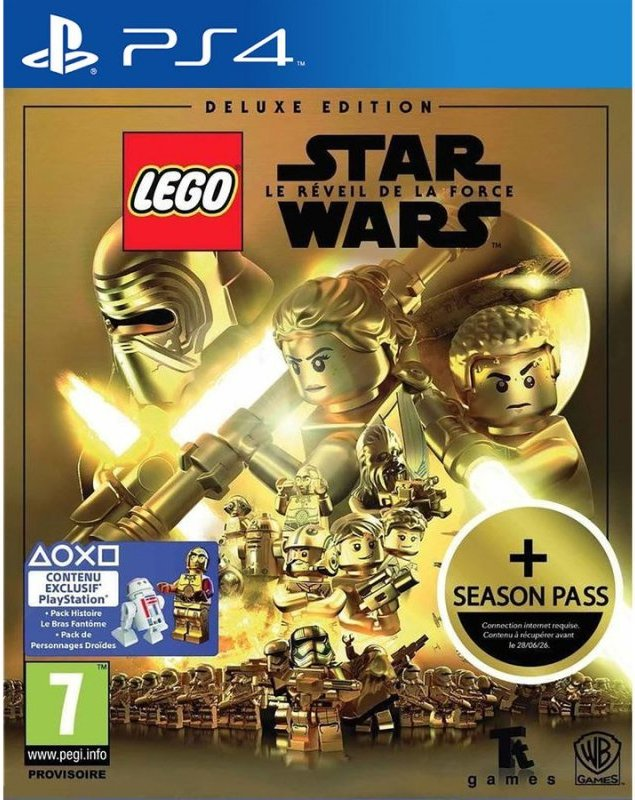 Image of   Lego Star Wars: The Force Awakens - Deluxe Edition - PS4