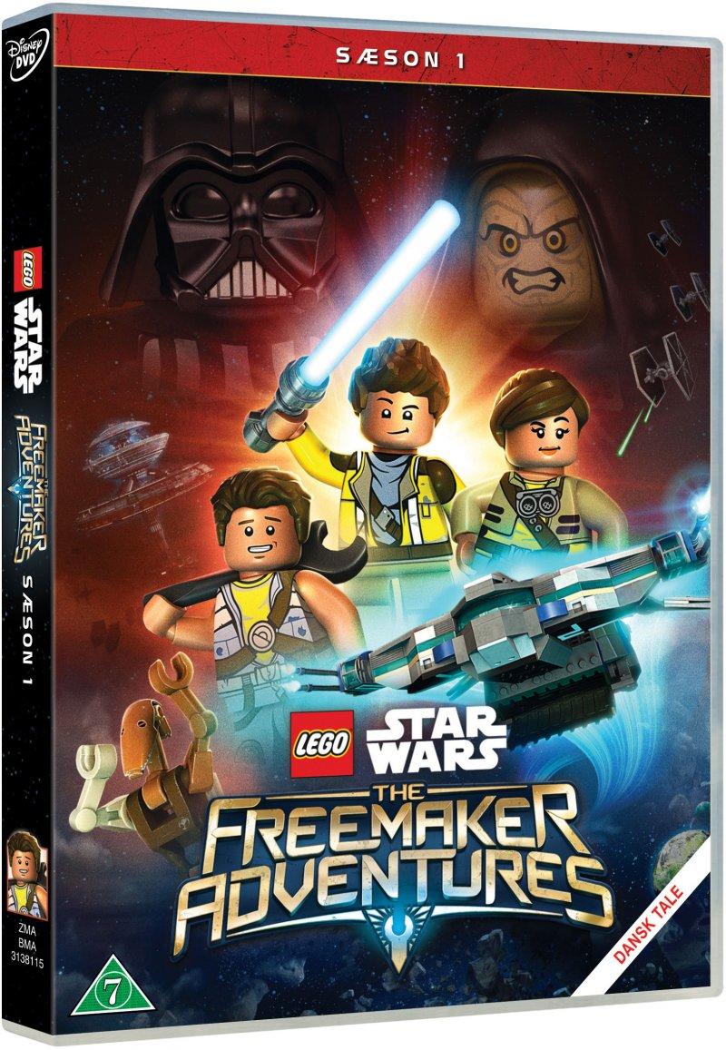 Billede af Lego Star Wars: The Freemaker Adventures - Sæson 1 - DVD - Film