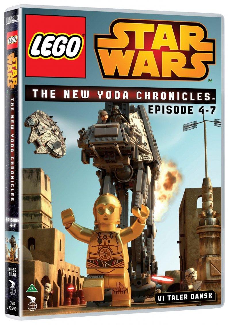 Billede af Lego Star Wars Dvd - The New Yoda Chronicles - Eps. 4-7 - DVD - Film