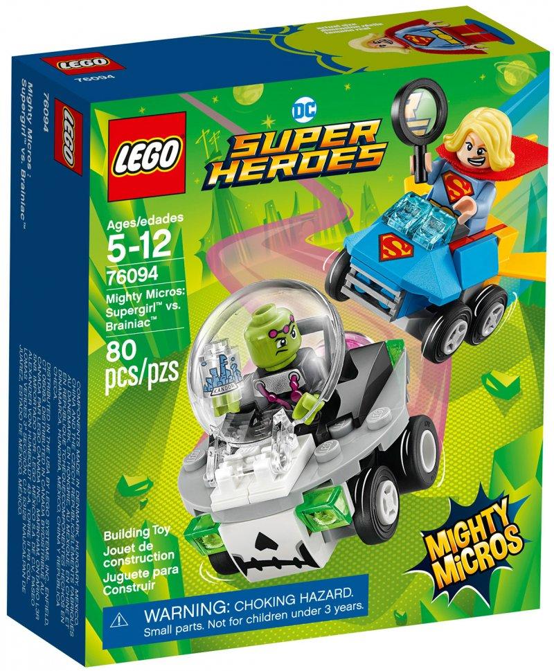 Lego Super Heroes - Mighty Micros: Supergirl Vs. Brainiac (76094)