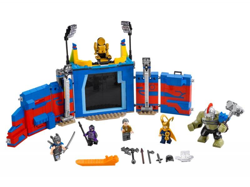 Lego Superheroes Marvel 76088 - Thor Mod Hulk: Kamp I Arenaen
