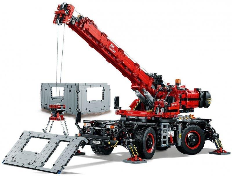 Lego Technic - Terrængående Kran (42082)