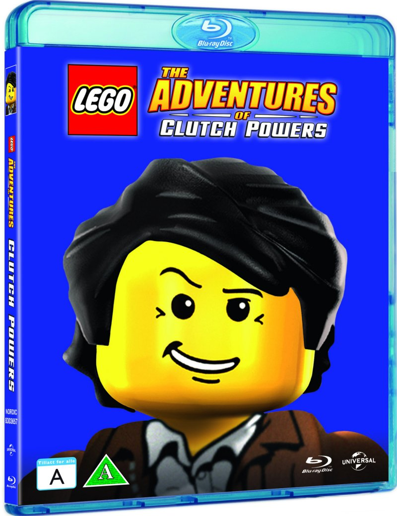 Image of   Lego: The Adventures Of Clutch Powers - Blu-Ray
