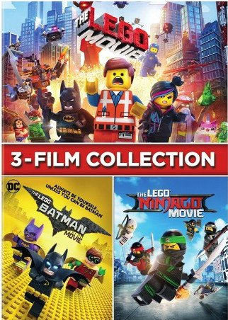 Image of   Lego - The Movies - DVD - Film