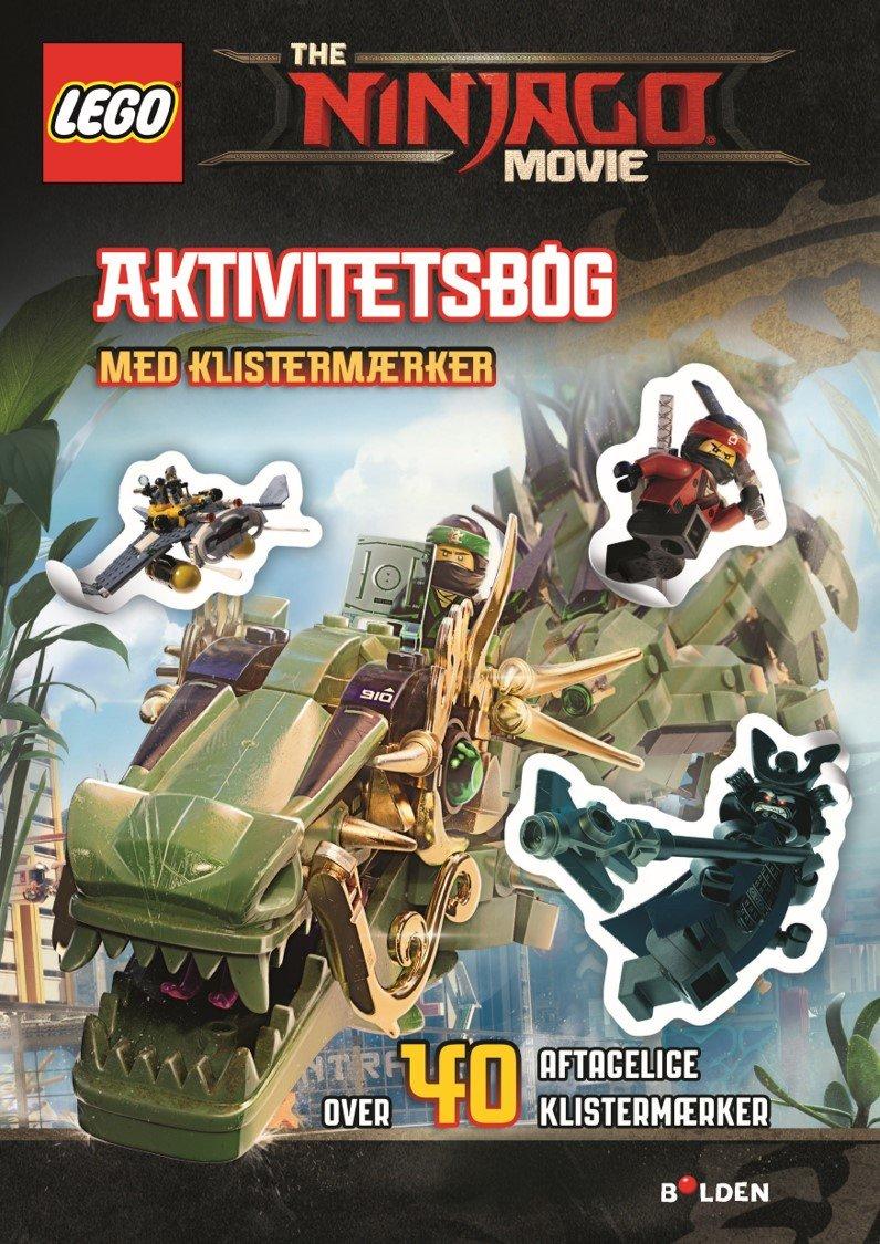 Lego Ninjago The Movie Aktivitetsbog Med Klistermærker - Diverse - Bog