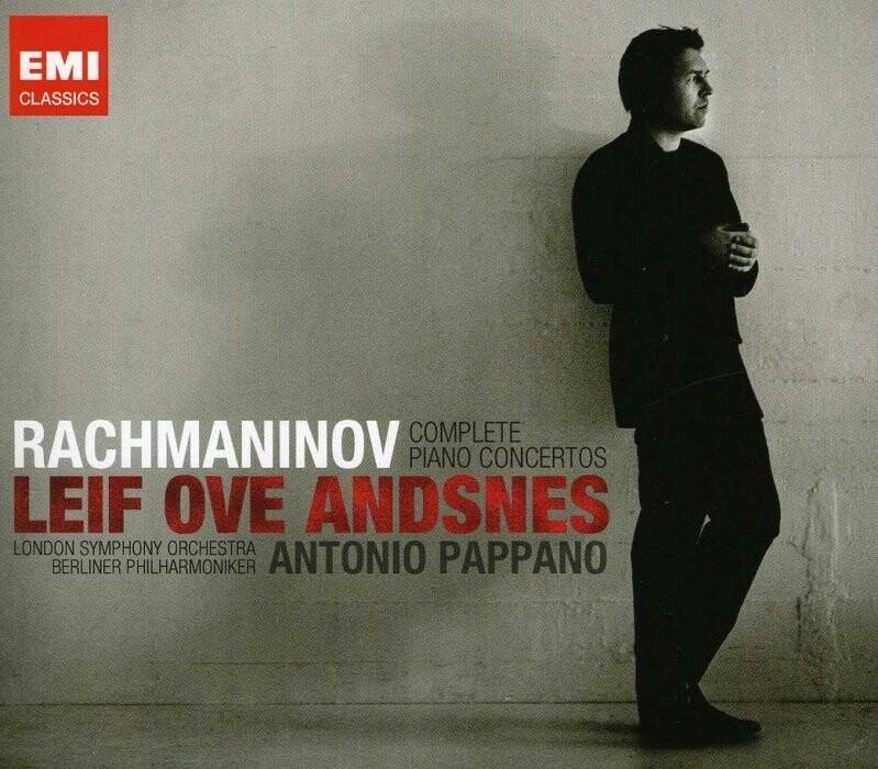 Image of   Leif Ove Andsnes - Rachmaninov - Complete Piano Concertos - CD