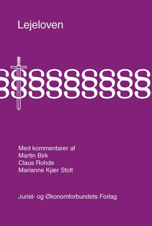 Image of   Lejeloven Med Kommentarer - Claus Rohde - Bog