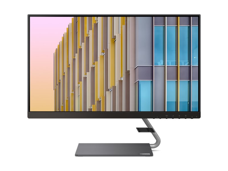 """Billede af Lenovo Q24h-10 - 24"""" Pc Skærm - Qhd Ips 75hz"""