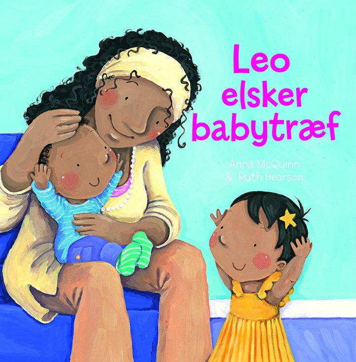 Leo Elsker Babytræf - Anna Mcquinn - Bog