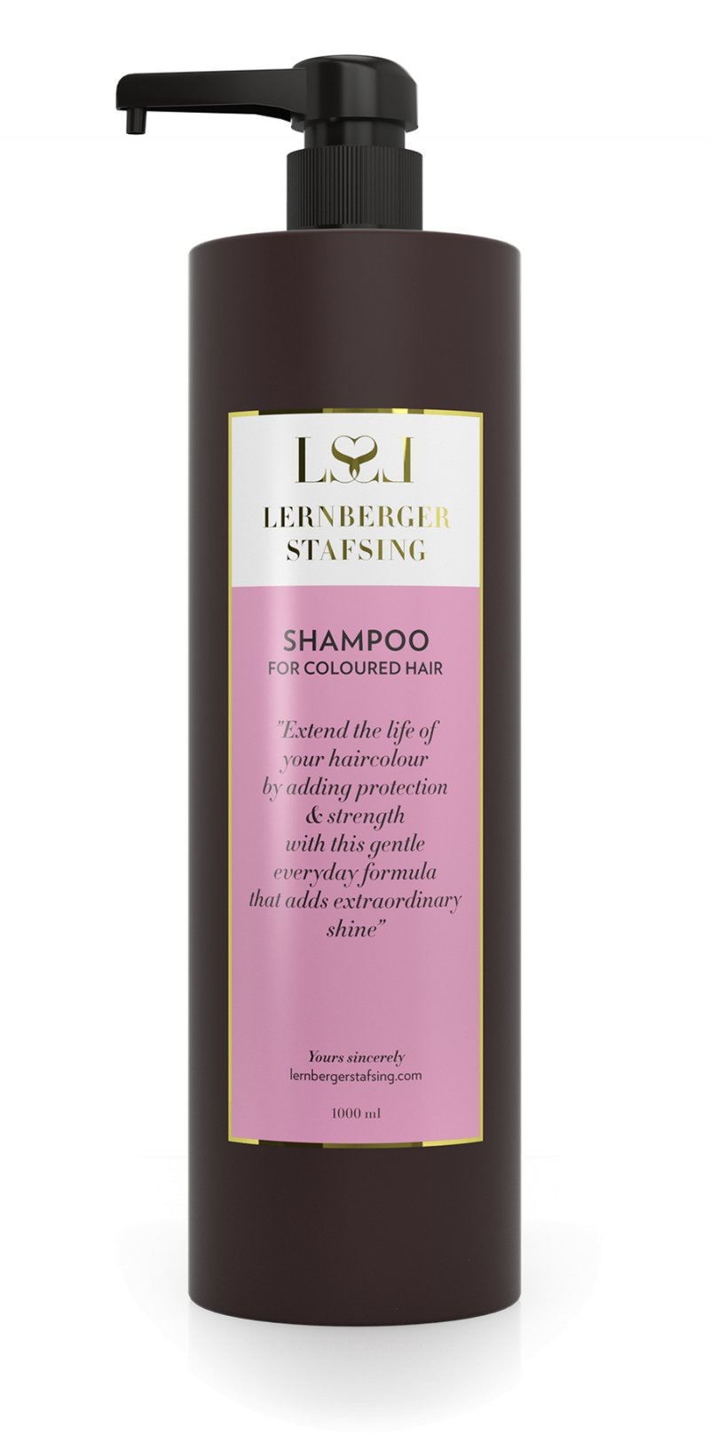 Image of   Lernberger Stafsing - Shampoo For Coloured Hair 1000 Ml