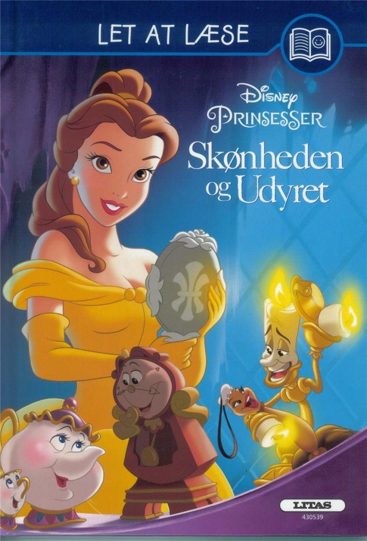 Image of   Let At Læse: Skønheden Og Udyret (disney) - Diverse - Bog