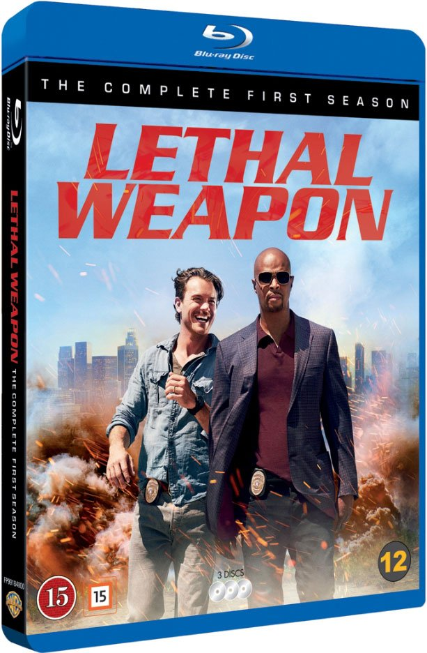 Lethal Weapon - Sæson 1 - Blu-Ray - Tv-serie