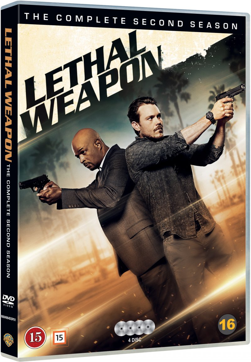Image of   Lethal Weapon - Sæson 2 - DVD - Tv-serie