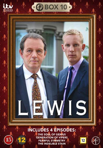 Image of   Lewis - Boks 10 - DVD - Tv-serie