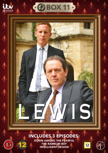 Image of   Lewis - Boks 11 - DVD - Tv-serie