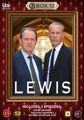 Image of   Lewis - Boks 12 - DVD - Tv-serie