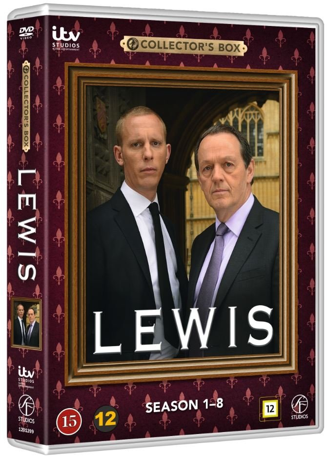 Lewis - Sæson 1-8 Boks - DVD - Tv-serie