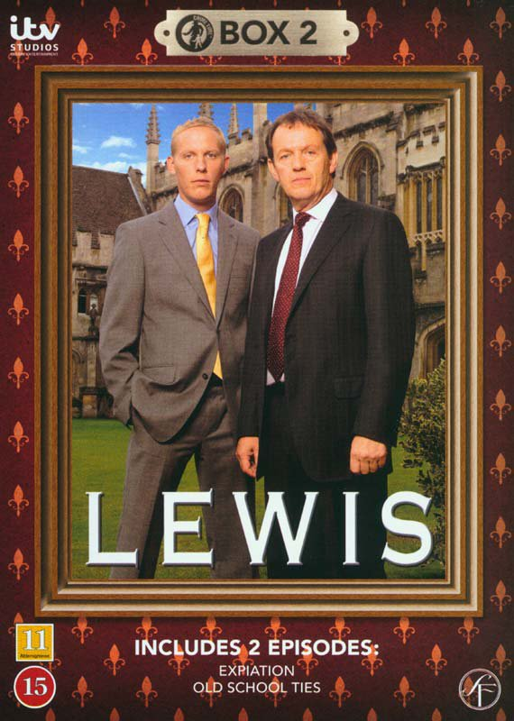 Image of   Lewis - Boks 2 - DVD - Tv-serie
