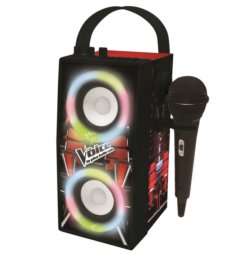 The Voice Bluetooth Højttaler Med Mikrofon – Lexibook