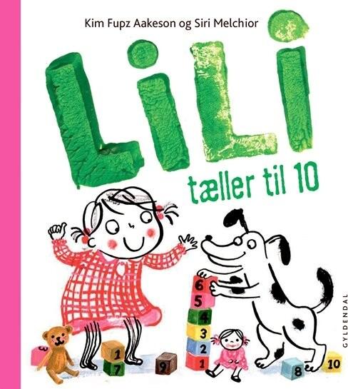 Lili Tæller Til 10 - Kim Fupz Aakeson - Bog