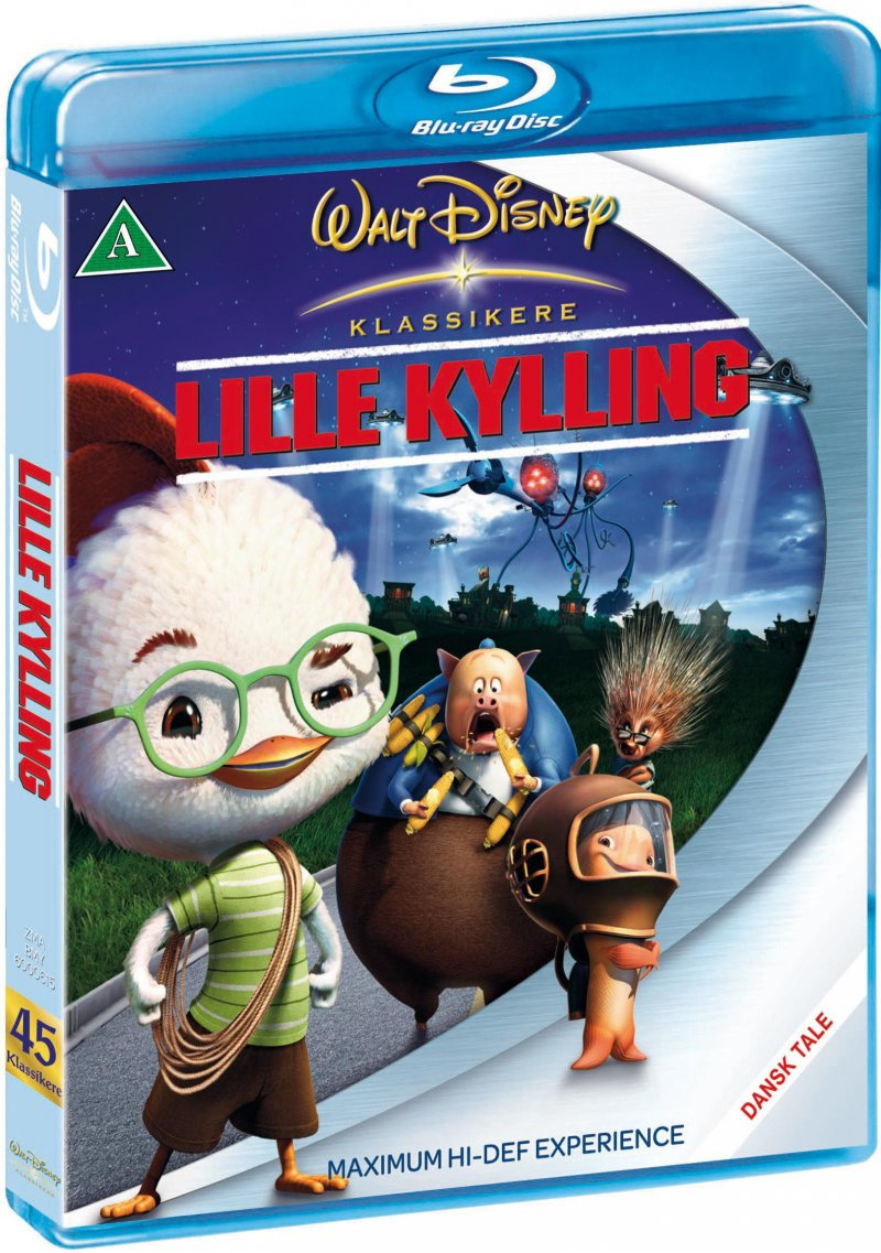 Image of   Lille Kylling / Chicken Little - Disney - Blu-Ray