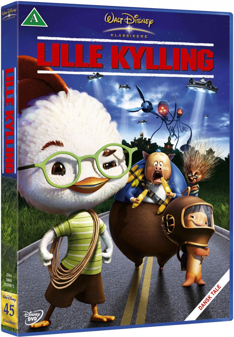 Image of   Lille Kylling / Chicken Little - Disney - DVD - Film