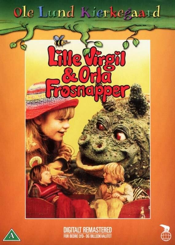 Billede af Lille Virgil Og Orla Frøsnapper - DVD - Film