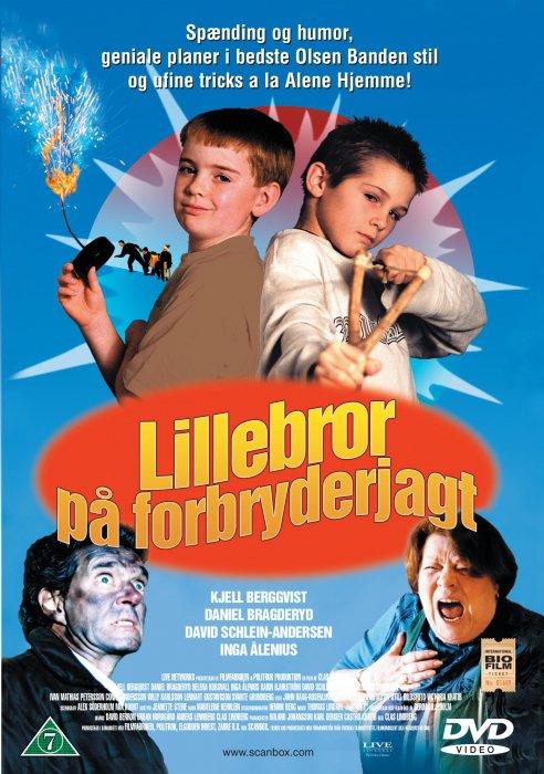 Billede af Lillebror På Tjuvjakt / Lillebror På Forbryderjagt - DVD - Film