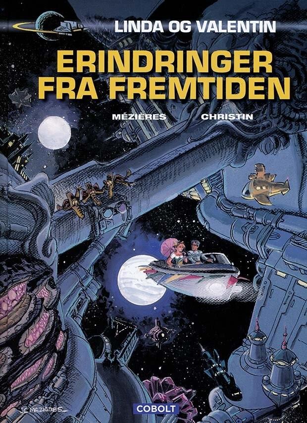 Image of   Linda Og Valentin: Erindringer Fra Fremtiden - Pierre Christin - Tegneserie