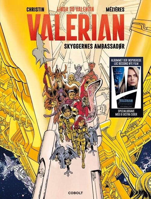 Billede af Linda Og Valentin - Valerian: Skyggernes Ambassadør - Pierre Christin - Tegneserie