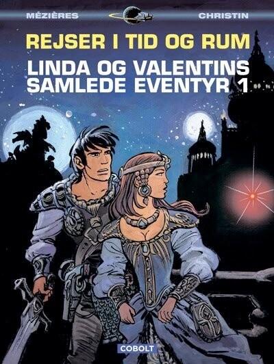 Image of   Linda Og Valentins Samlede Eventyr 1: Rejser I Tid Og Rum - Jean-claude Mézières - Tegneserie