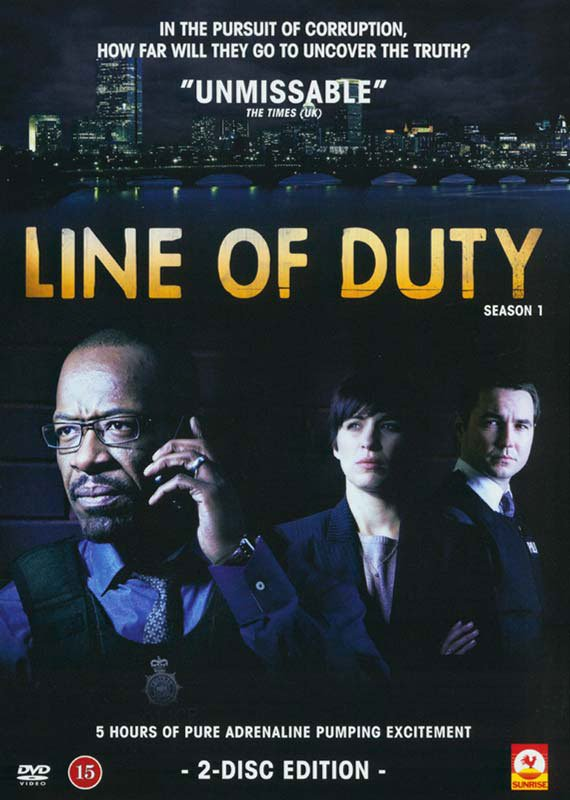 Image of   Line Of Duty - Sæson 1 - DVD - Tv-serie