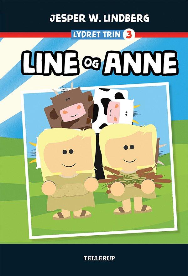 Image of   Line Og Anne - Jesper W. Lindberg - Bog