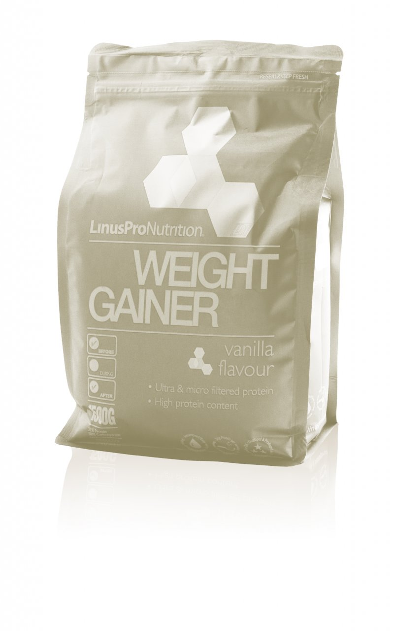 LinusPro weight gainer fra Gucca