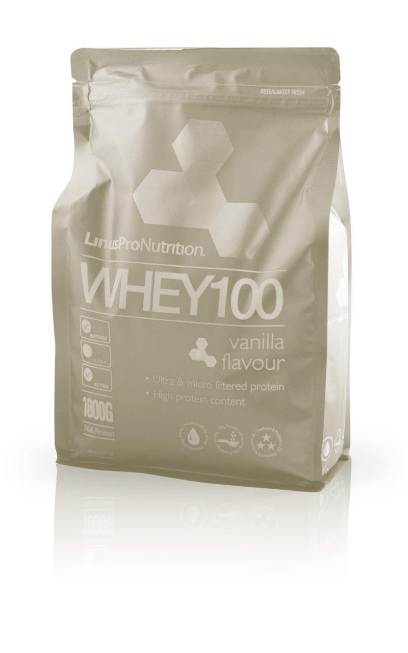 Image of   Linuspro Nutrition - Proteinpulver - Vanilje - 1kg