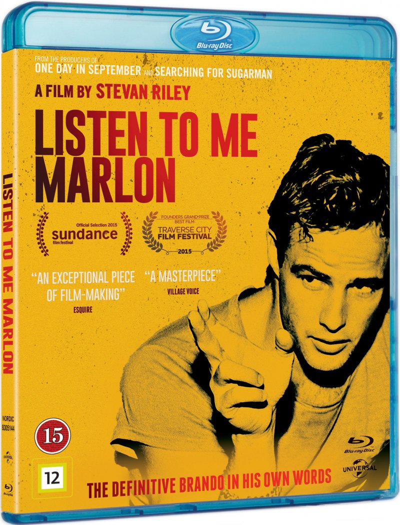 Image of   Listen To Me Marlon - Blu-Ray