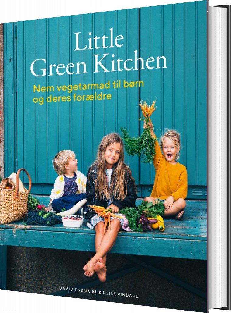 Little Green Kitchen - Luise Vindahl - Bog