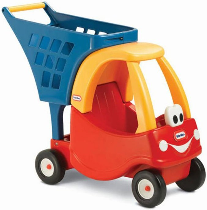 Image of   Little Tikes Cozy Shopping Cart