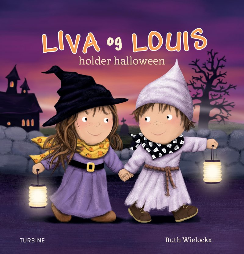 Liva Og Louis Holder Halloween - Ruth Wielockx - Bog