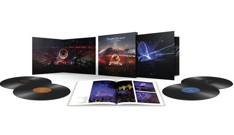 David Gilmour - Live At Pompeii - Deluxe Edition - Vinyl / LP