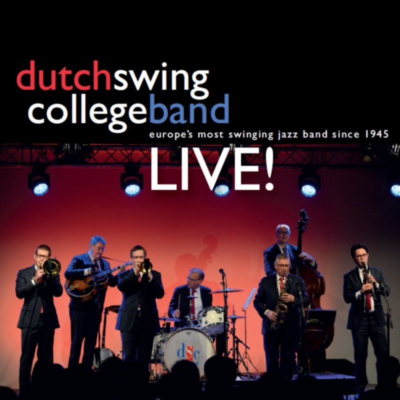 Image of   Dutch Swing College Band - Live! - CD