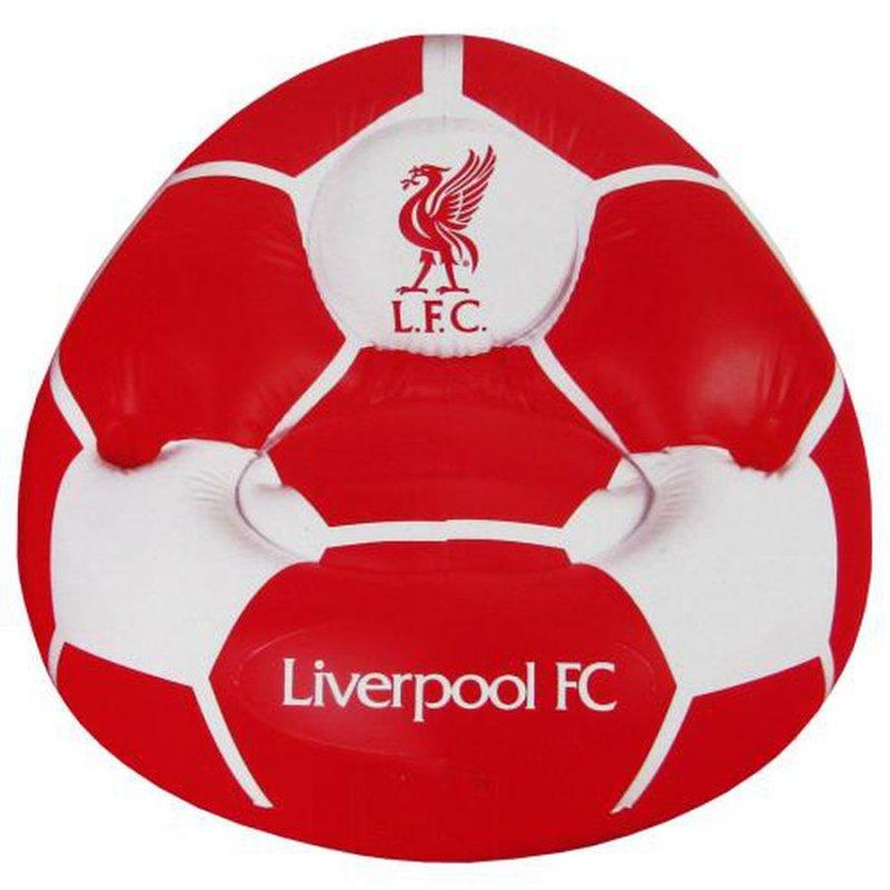 Image of   Liverpool Stol - Oppustelig Fodbold Stol - Merchandise
