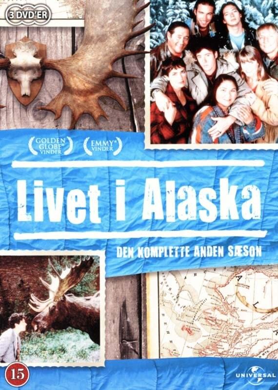 Livet I Alaska - Sæson 2 - DVD - Tv-serie