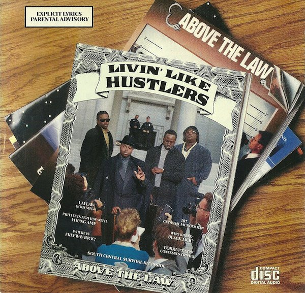 Above The Law - Livin Like Hustlers - Vinyl / LP