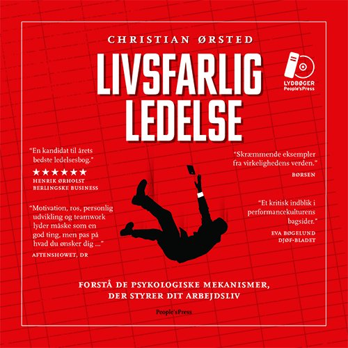 Image of   Livsfarlig Ledelse - Christian ørsted - Cd Lydbog