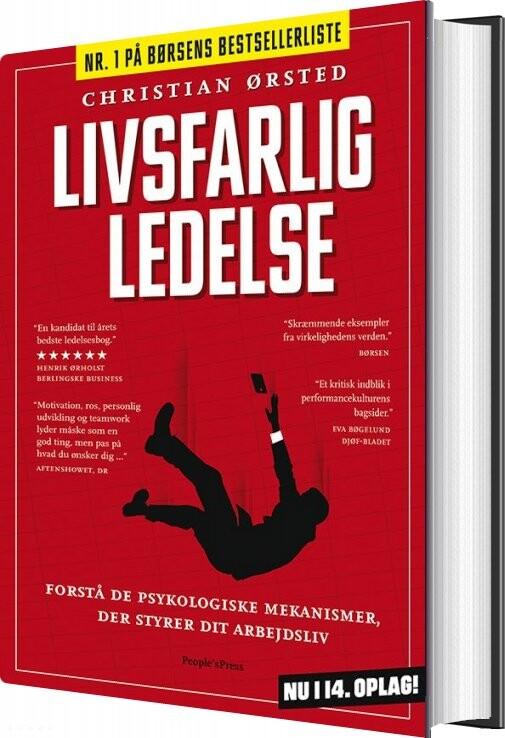 Image of   Livsfarlig Ledelse - Christian ørsted - Bog