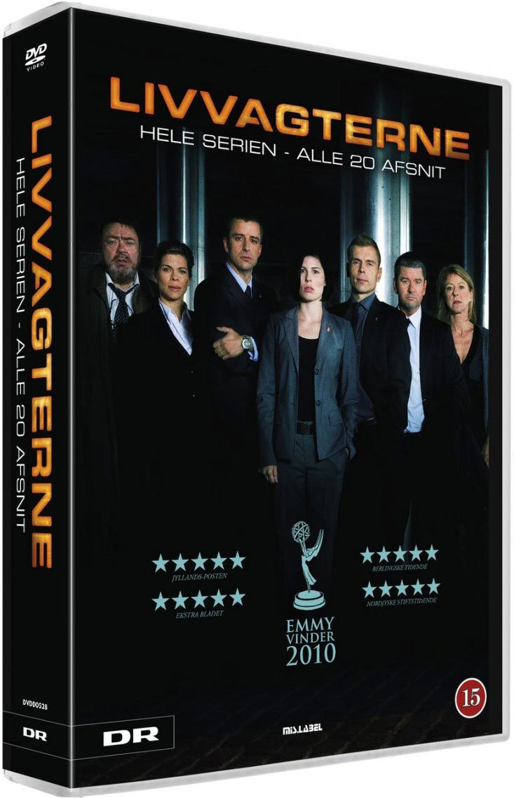 Image of   Livvagterne - Dr Tv Serie - DVD - Tv-serie