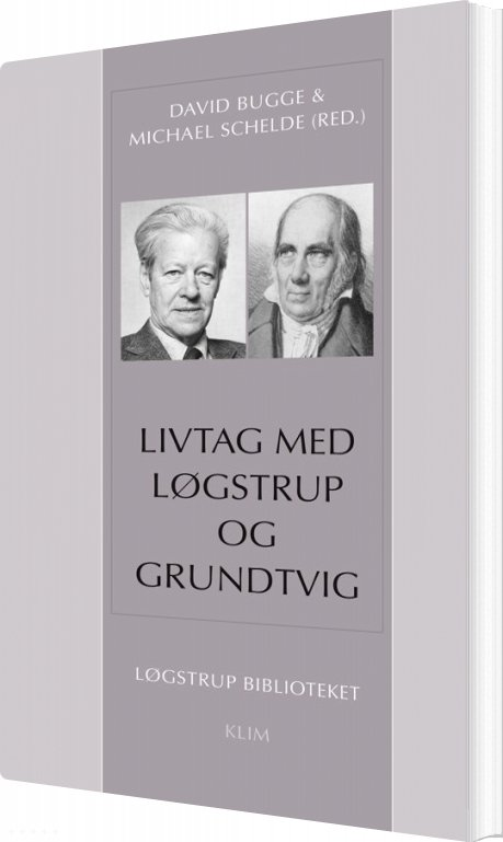 Image of   Livtag Med Løgstrup Og Grundtvig - David Bugge - Bog