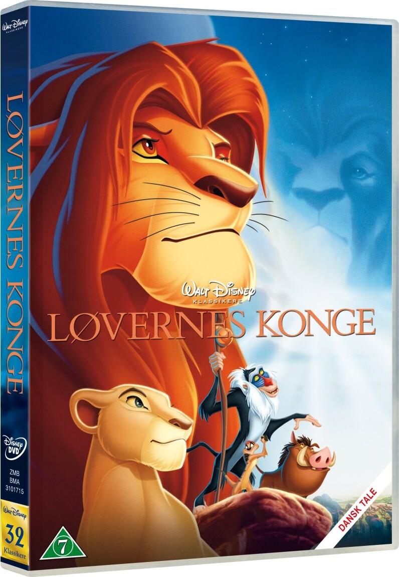 Løvernes Konge / The Lion King - Disney - DVD - Film