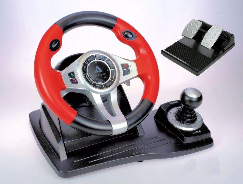 Playstation 4 Topdrive Gt450 - Rat Med Pedal - Logic3